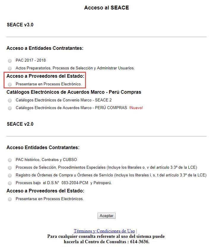 Procesos de Selección | Organismo Supervisor de las Contrataciones ...