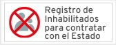 Registro de Inhabilitados