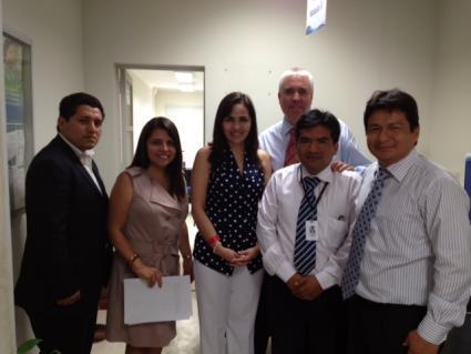 Presidenta ejecutiva del osce visit oficina zonal de ica for Oficina gestion ica