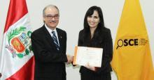 OSCE obtiene Reconocimiento Especial en el Premio Interamericano a la Innovación para la Gestión Efectiva otorgado por la OEA